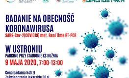 Badania na obecność koronawirusa w Ustroniu | fot. Miasto Ustroń