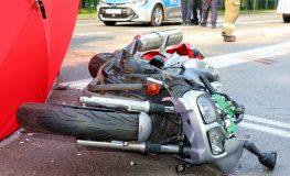 Śmiertelny wypadek z udziałem motocykla