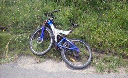 Pijany rowerzysta nie ustąpił przejazdu