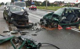 Wypadek w Żorach. Ranne zostało dziecko, które podróżowało w niezamocowanym foteliku