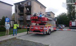 W jednym z mieszkań na ul. Chrobrego w Rybniku wybuchła butla z gazem