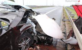 Trzy osoby zginęły w wypadku na S1 w Mierzęcicach
