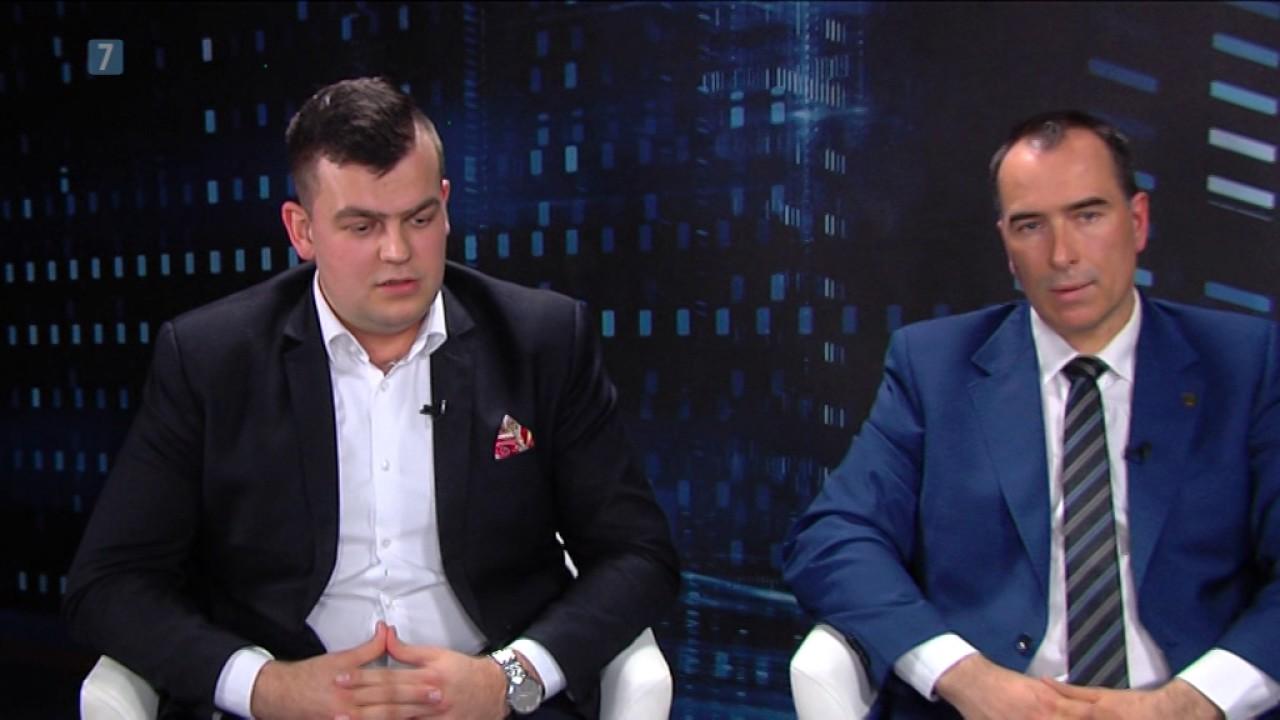 Ryszard Rakoczy i Szymon Klimczak