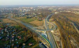 Droga PSzczyna-Racibórz w Rybniku już otwarta   fot. Policja Rybnik