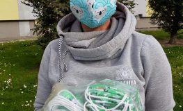 Ruszyła kolejna akcja rozdawania maseczek w Żorach | fot. UM Żory