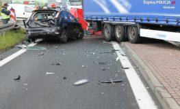 Śmiertelny wypadek na obwodnicy krzepickiej