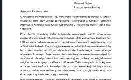 Samorządowcy nie składają broni w walce o bazę LPR w Kaniowie w powiecie bielskim.