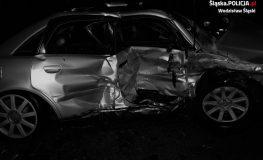 Trzy osoby poszkodowane w kraksie w Turzy Śląskiej