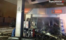 Wybuch na stacji benzynowej w Sosnowcu