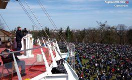 Ponad 10 tys. motocyklistów przyjechało na Jasną Górę   fot. Policja Śląska