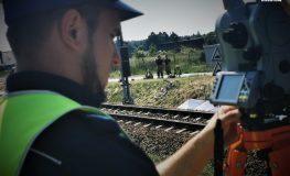 Śmiertelne potrącenie na torach w Orzeszu   Fot. Policja Śląska